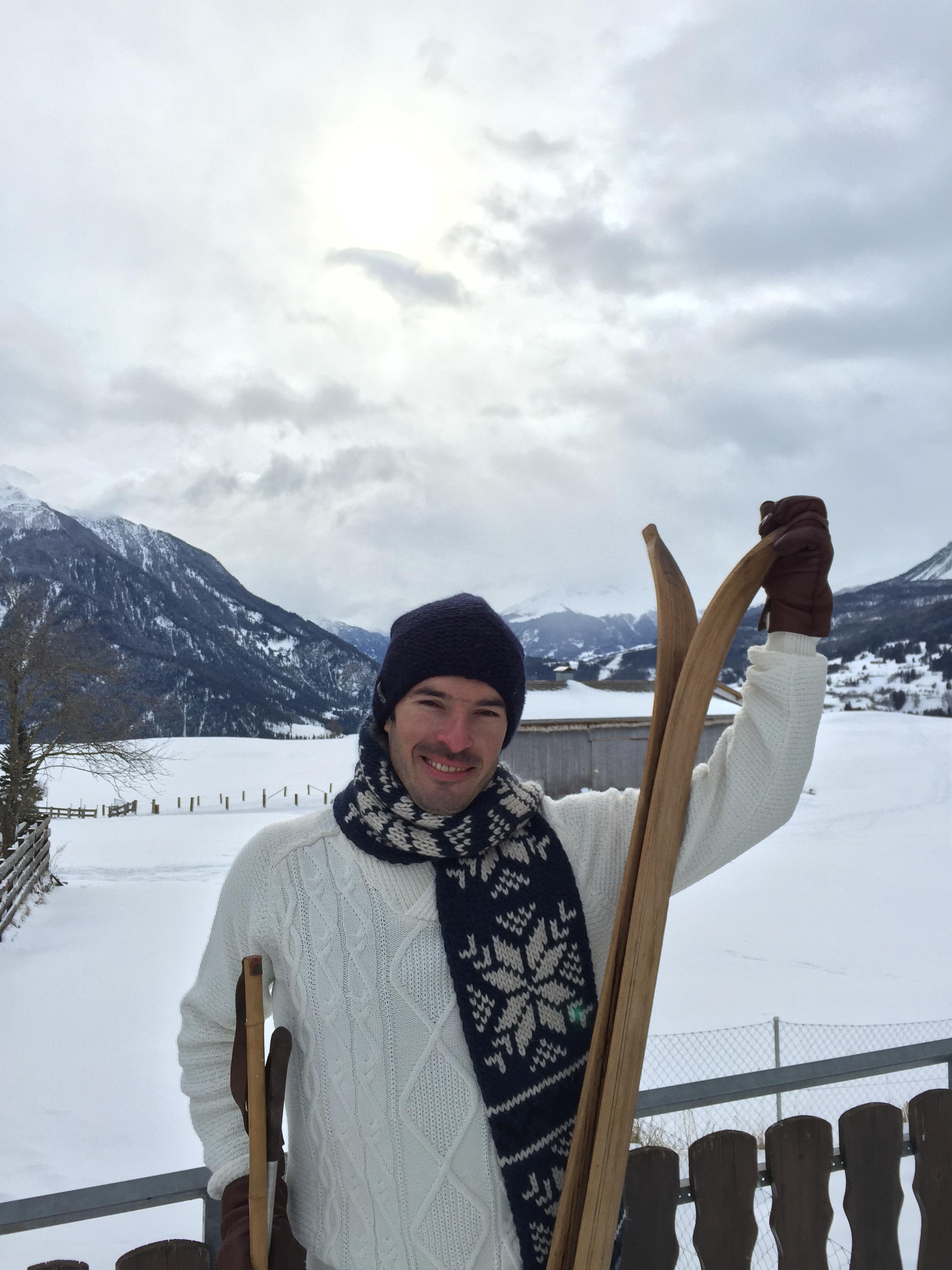 """2015 """"skiing"""" in Lenzerheide (SUI)"""