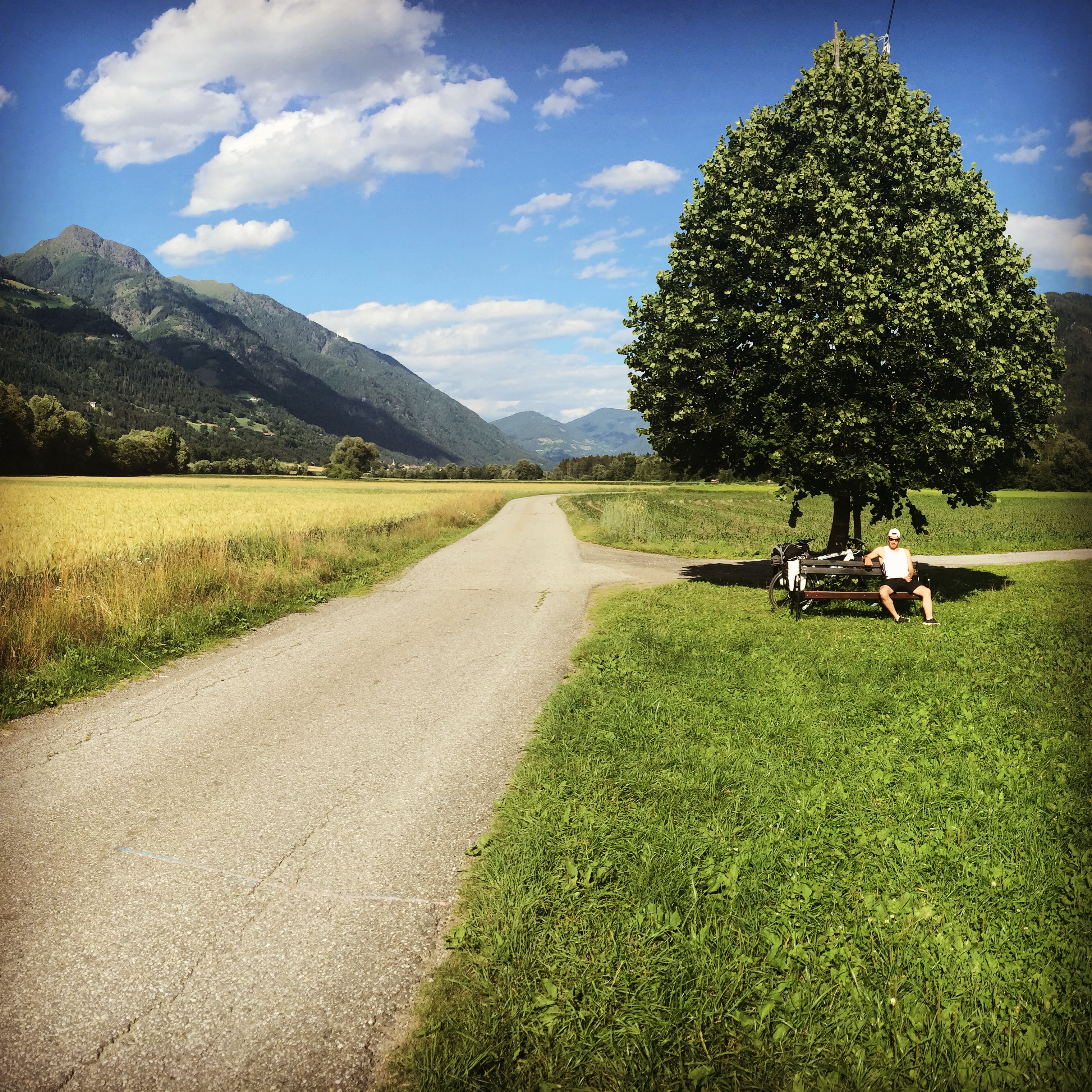 2015 cycling somewhere in Austria