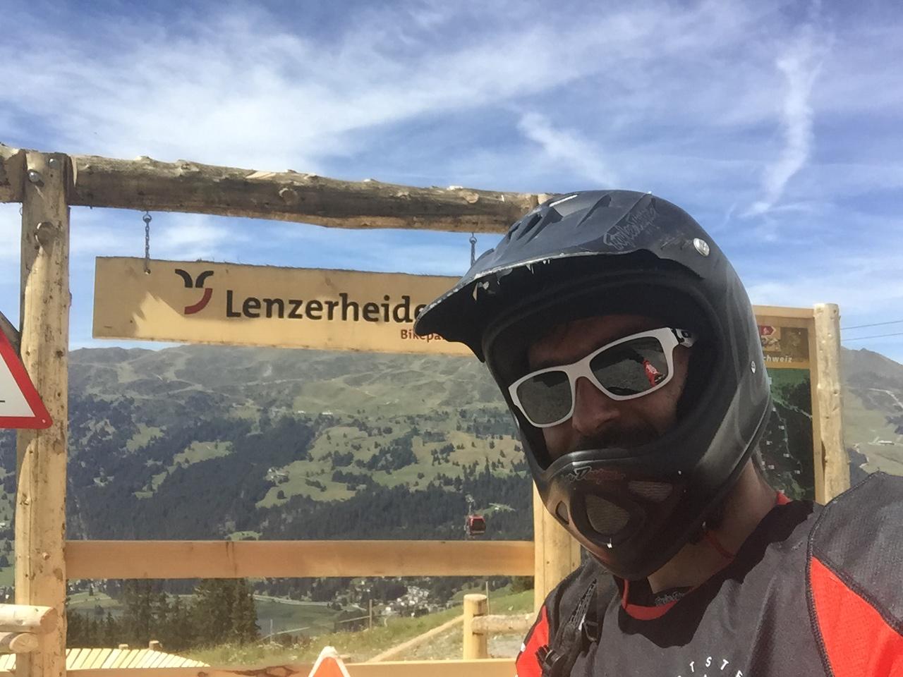 2015 biking in Lenzerheide (SUI)