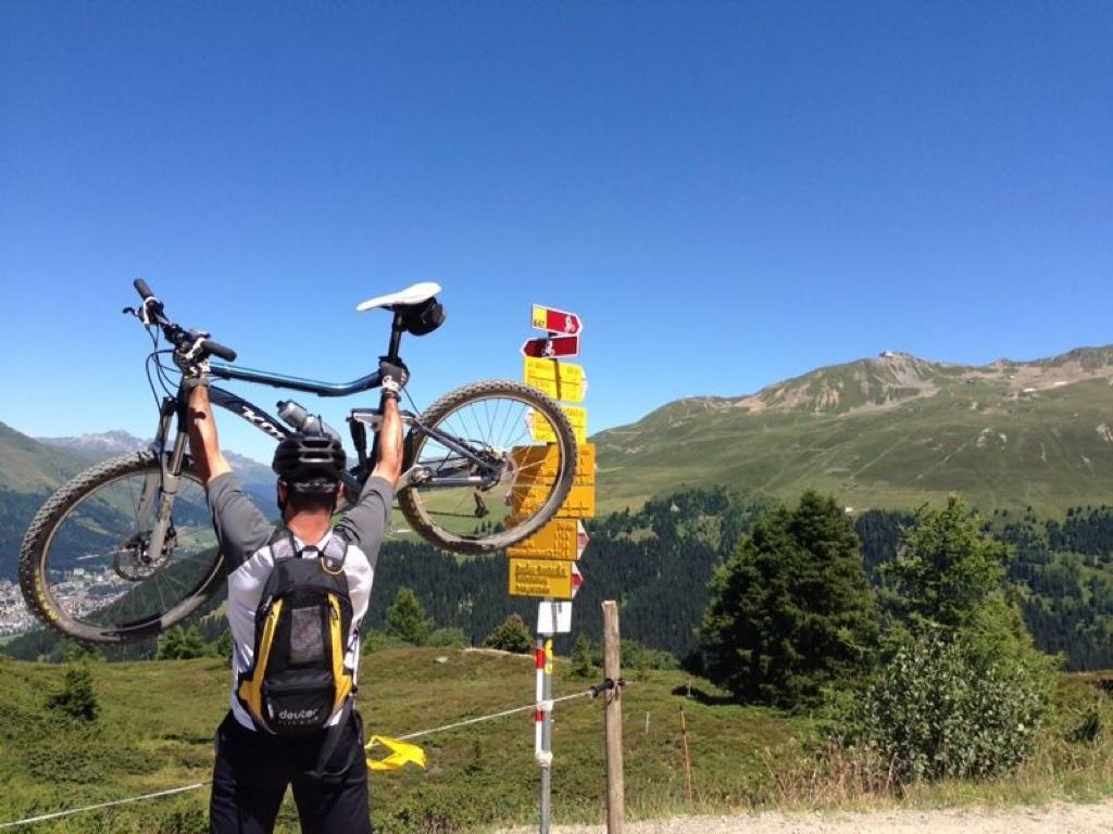 2013 biking, Davos (SUI)