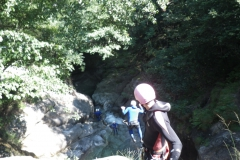 2013 canyoning, Bogerra (SUI)