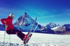 2015 skiing in Zermatt (SUI)
