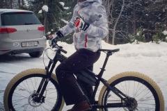 2015 fat biking in Arosa (SUI)