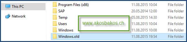 Delete the Windows.old Folder After Windows 10 Upgrade 0