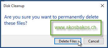 Delete the Windows.old Folder After Windows 10 Upgrade 4