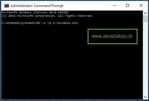 Delete the Windows.old Folder After Windows 10 Upgrade 5