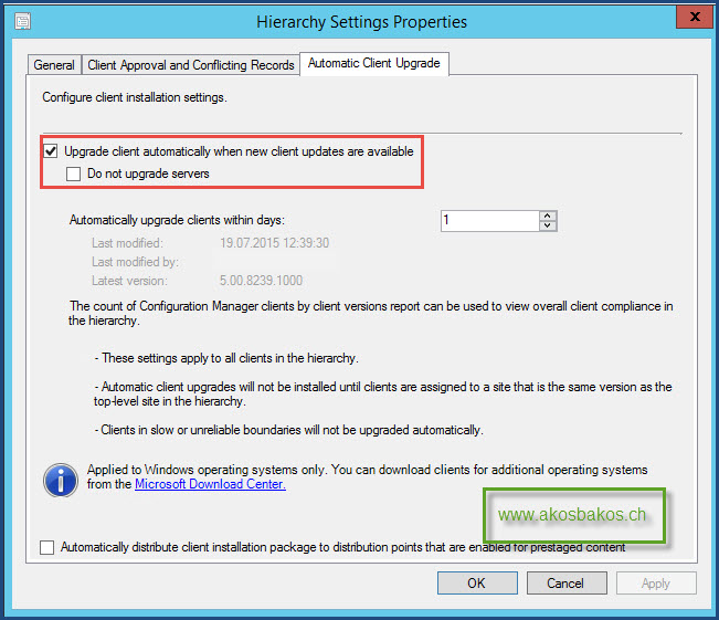 Step-by-Step SCCM 2012 R2 SP1 Upgrade Guide 14