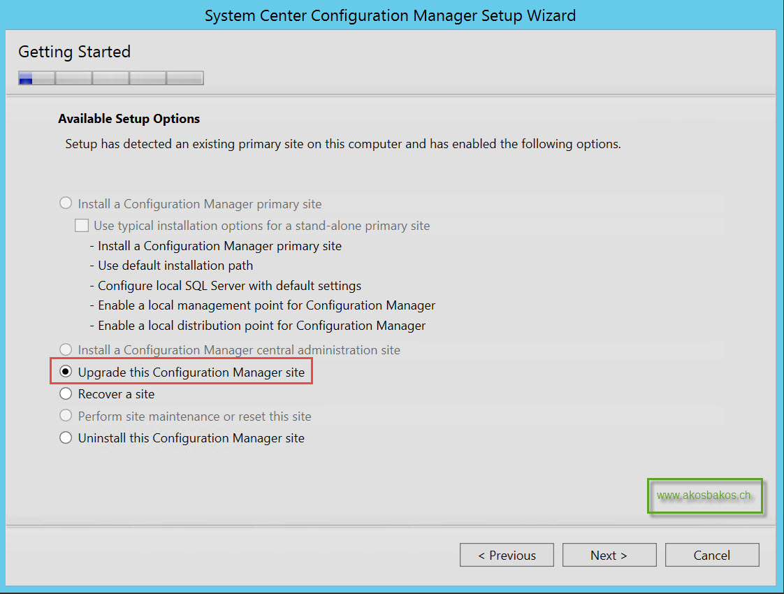 Step-by-Step SCCM 2012 R2 SP1 Upgrade Guide 4