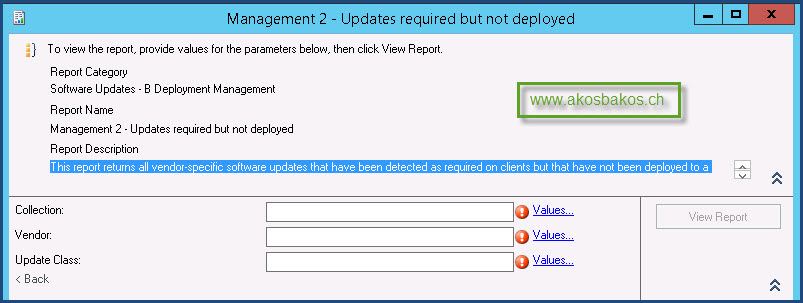 Scheduled SCCM Report for Required Patches – Ákos Bakos